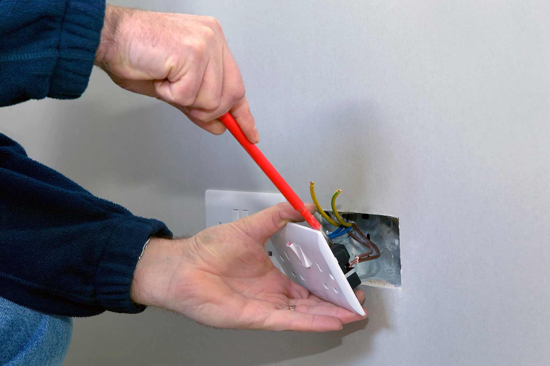 Our electricians can install plug sockets for domestic and commercial proeprties in Bolton and the local area.
